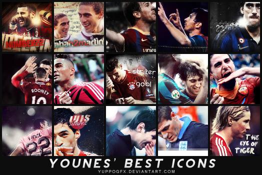 My best icons - 2011/12 by YuppoGFX
