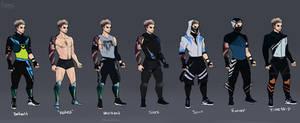 Pierce Alternate Outfits