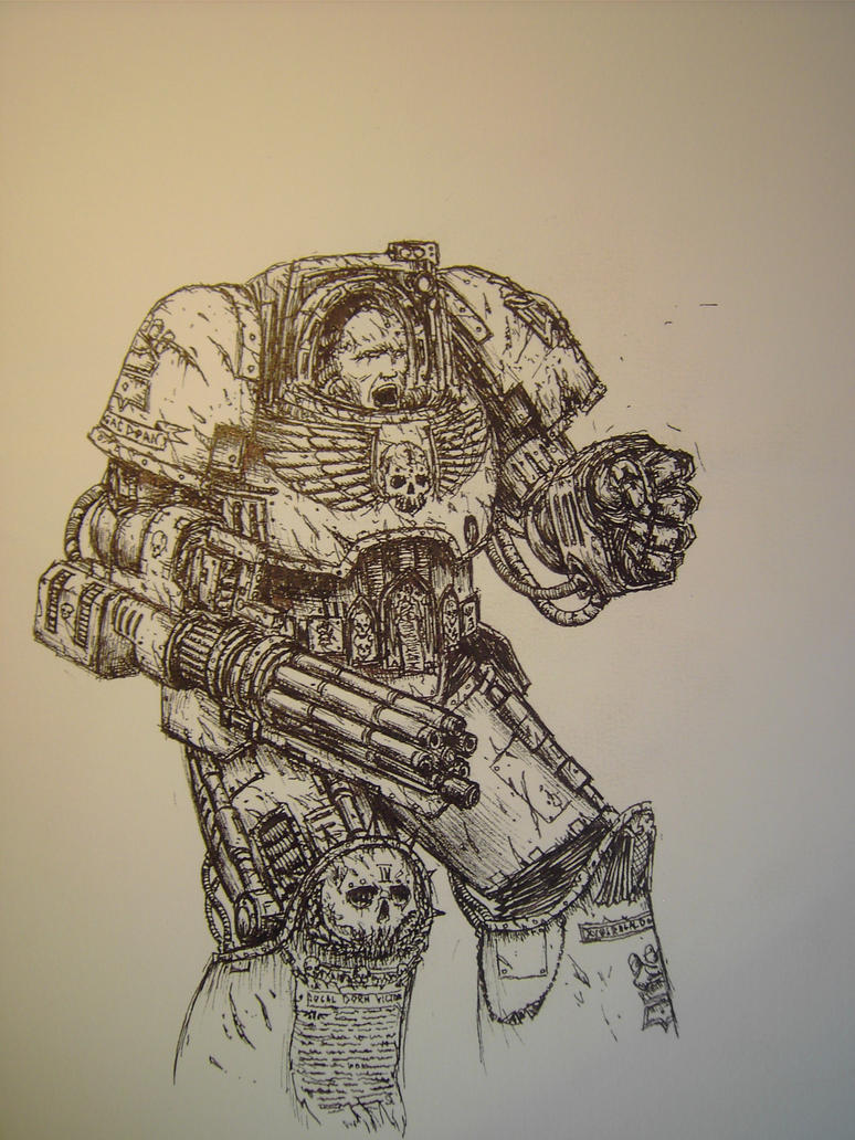 Imperial Fists Terminator by WandelnderFlohsack