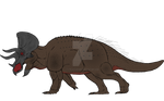 BRUTUS KING OF ALL TRICERATOPS