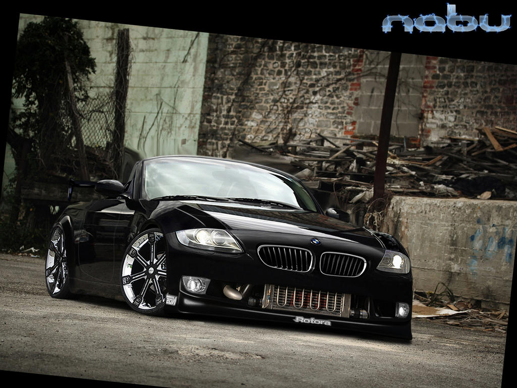 Full Bmw Collections  BMW Z4 Black Sport Car