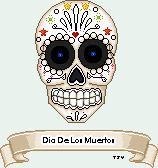 Sugar Skull-Dia De Los Muertos by Tonya-TJPhotography
