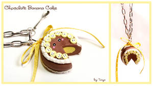 Banana Chocolate Cake 1 by Tonya-TJPhotography