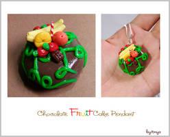 Chocolate Fruit Cake by Tonya-TJPhotography