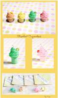 Sherbet Cupcake Charms by Tonya-TJPhotography
