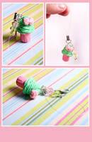 Kawaii cupcake mobile charm by Tonya-TJPhotography