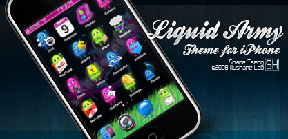 Liquid Army for iPhone by illushane