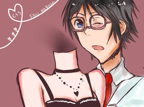 DRRR: Shinra x Celty