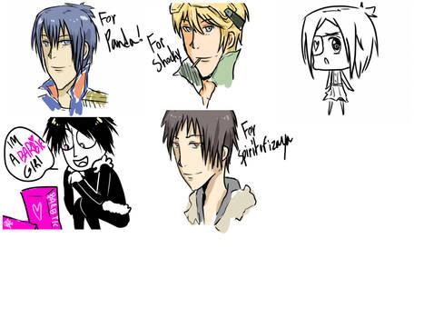 Tumblr doodles