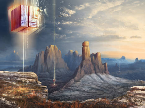 Landscape with AI