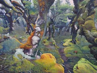Te Araroa Trail in the Longwood Forest II by Fladrif