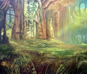 Backwoods by Fladrif