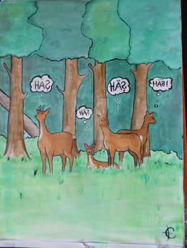 What deers are thinking of... 8)