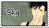 stamp : Sky