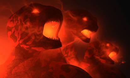 Demons by DarkGeometryArt