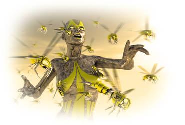 Wasp Commander by DarkGeometryArt