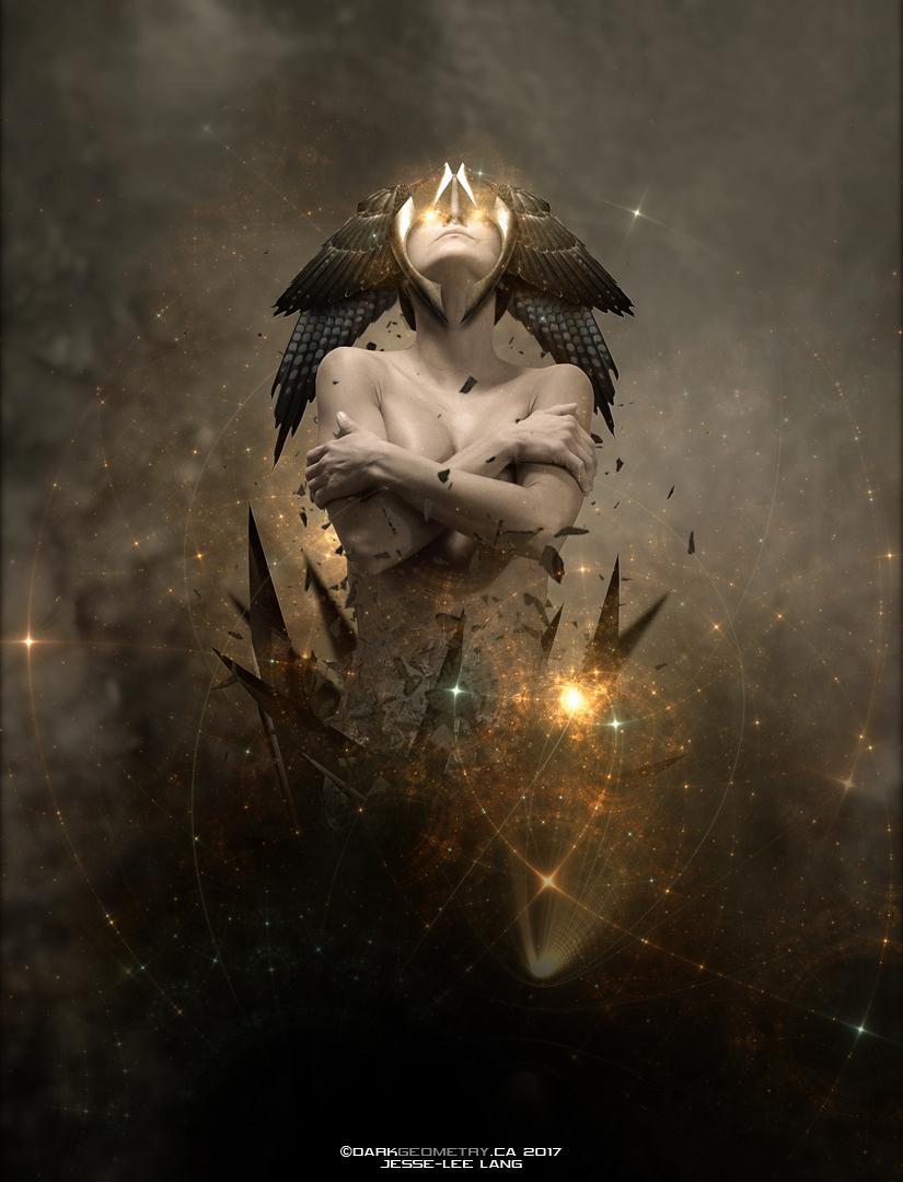 Peculiar Magic by DarkGeometryArt