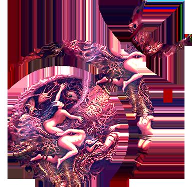 slaanesh symbol by slaaneshg on deviantart