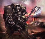 Iron Warrior terminator