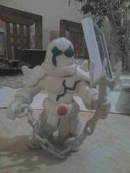 Ancient Marble Warrior