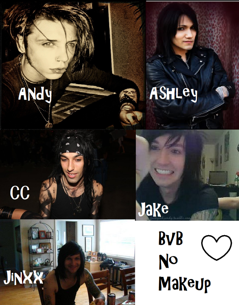 Black Veil Brides without Makeup  by XxTabbixXBlack Veil Brides Jake Without Makeup