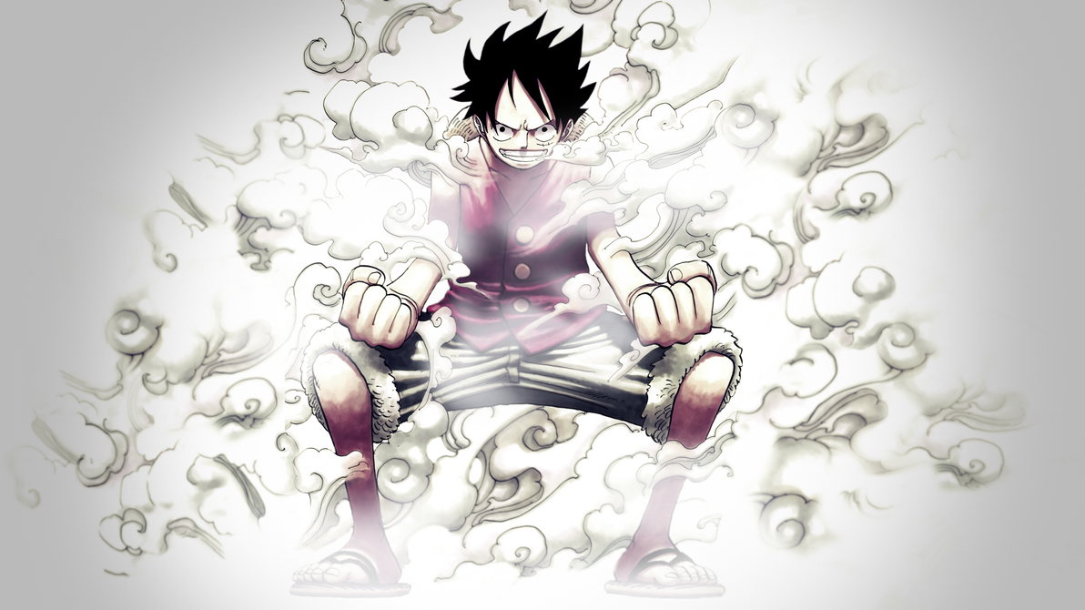 One Piece Wallpaper Luffy Gear Fourth One Piece Luffy nd Gear by