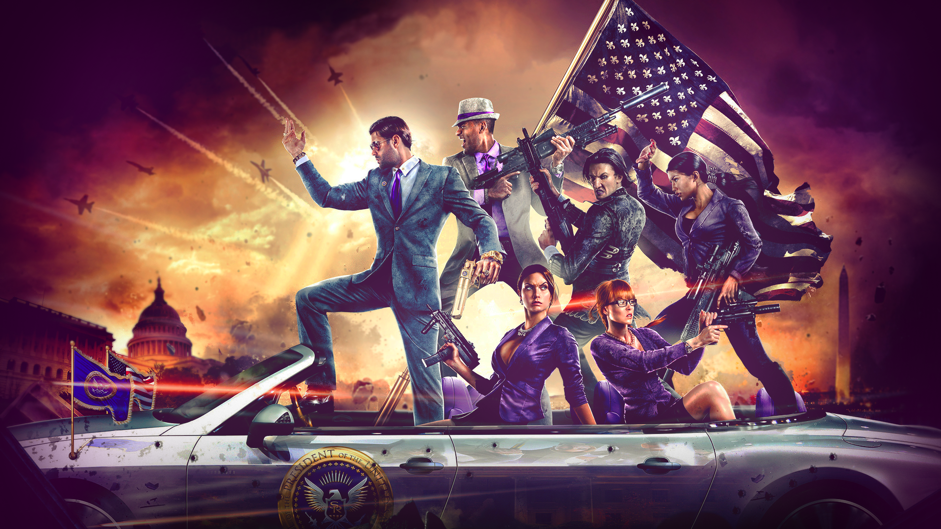 Saints Row 4 Wallpapers: Saints Row IV Wallpaper By PT-Desu On DeviantArt