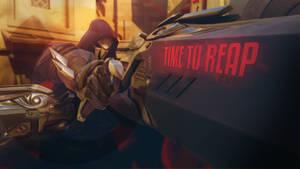 Overwatch - Press Q to Reap by PT-Desu