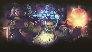 Overwatch Halloween Terror Wallpaper by PT-Desu