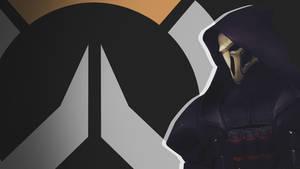 Overwatch Side Profile Wallpaper - Reaper by PT-Desu
