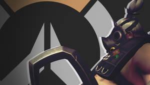 Overwatch Side Profile Wallpaper - Roadhog by PT-Desu