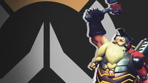 Overwatch Side Profile Wallpaper -Torbjorn by PT-Desu