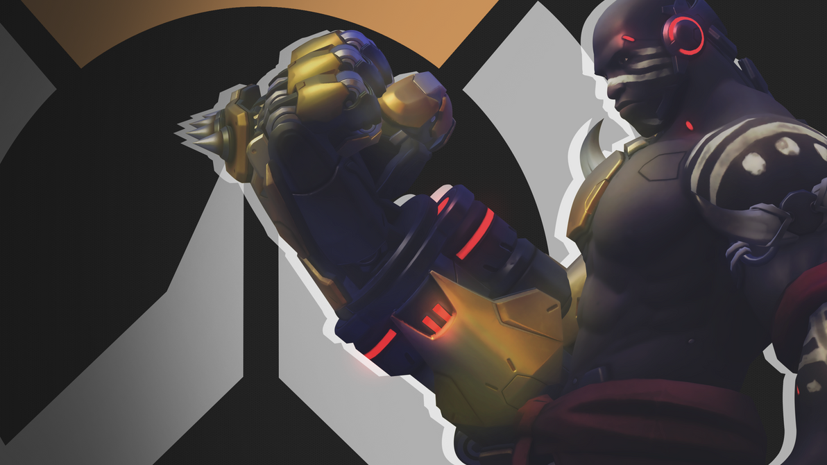 Overwatch Side Profile Wallpaper - Doomfist by PT-Desu
