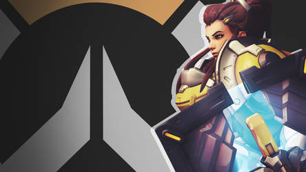Overwatch Side Profile Wallpaper - Brigitte