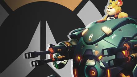 Overwatch Side Profile Wallpaper - Hammond