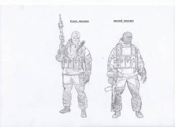 Operatives of the GRU of the Russian Federation by SovietChekist