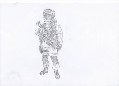 Operative special forces FSB Alpha