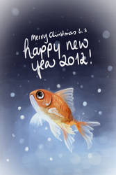 Best wishes Card 2012