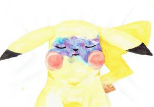 Galaxy Freckles Pikachu