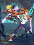 COMM: Naruto x Rika by Koniak007