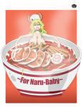 COMM: Ramen For Naru-Baby by Koniak007