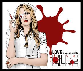 Love Begins With Elle by glitterfiendling