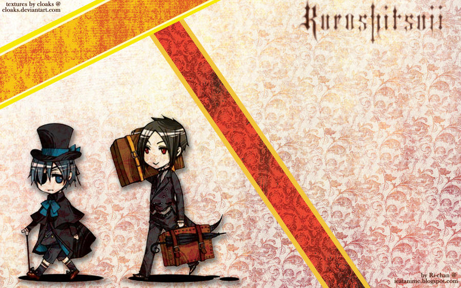 otaku wallpaper. Kuroshitsuji Wallpaper by