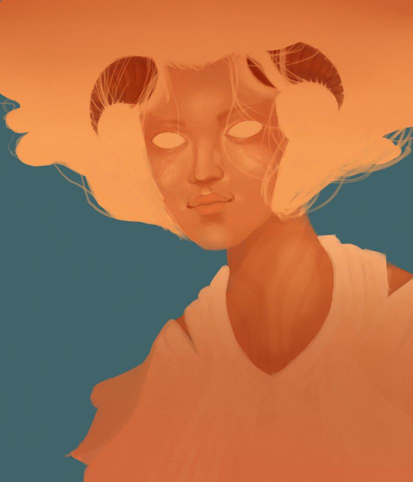 Demon by Simonne-Alone