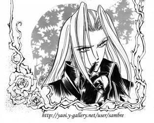 Sephiroth + FFVII + by Final-FantasyVIIClub