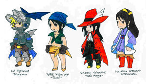 FF7 Minis 2 Complete by Final-FantasyVIIClub