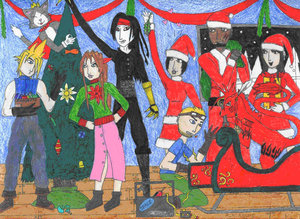 Avalanche Calendar: December by Final-FantasyVIIClub