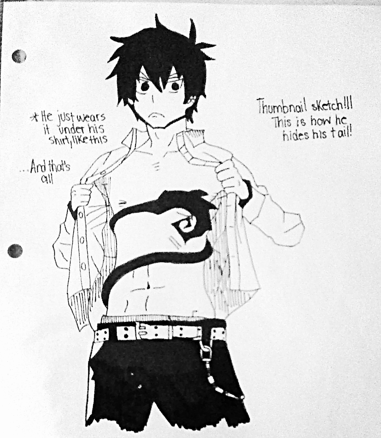 A Look at Manga Series: Blue Exorcist