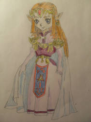 Princess Zelda (Legend of Zelda) by LittleTorTor