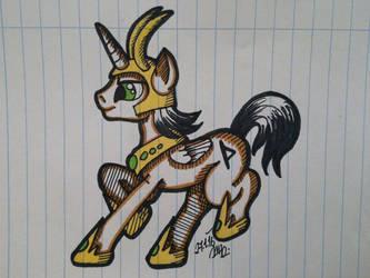 Pony Loki by Azuliana